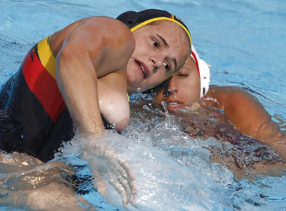 Apologise, can womens water polo breast